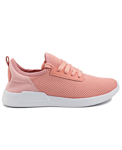 Casual Sneakers - Coral