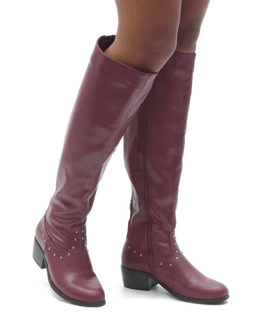 Boots - Burgundy