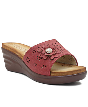 Wedge - Burgundy