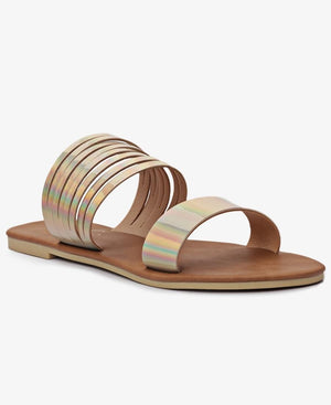 Strappy Sandals - Pewter