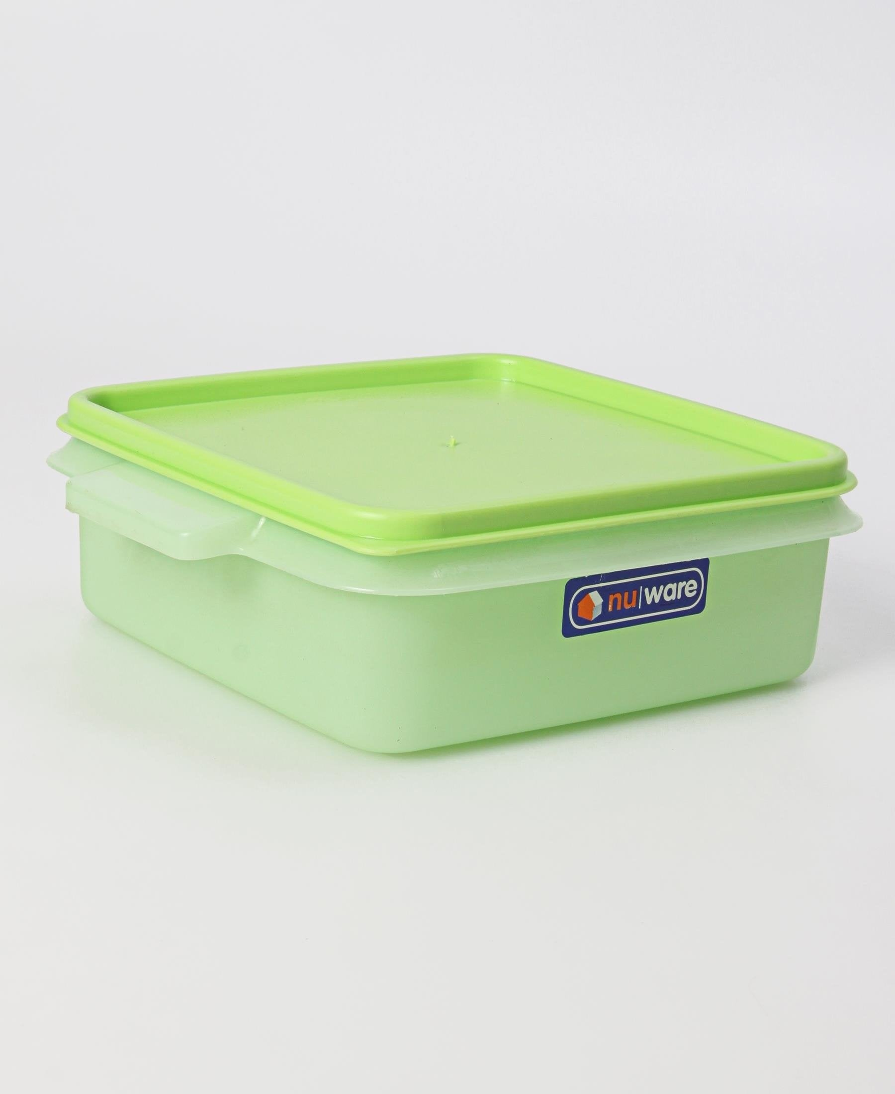 Square Lunch Box - Green