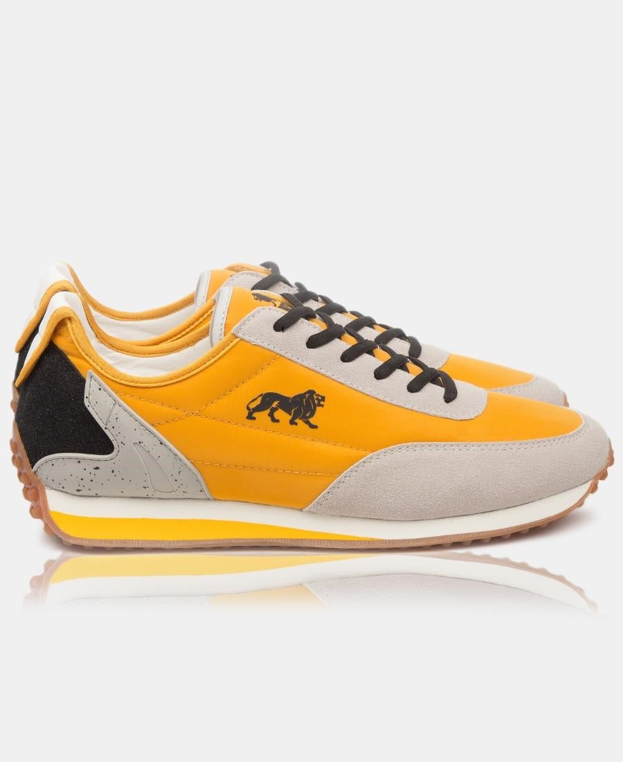 Men's Ace Sneakers - Mustard