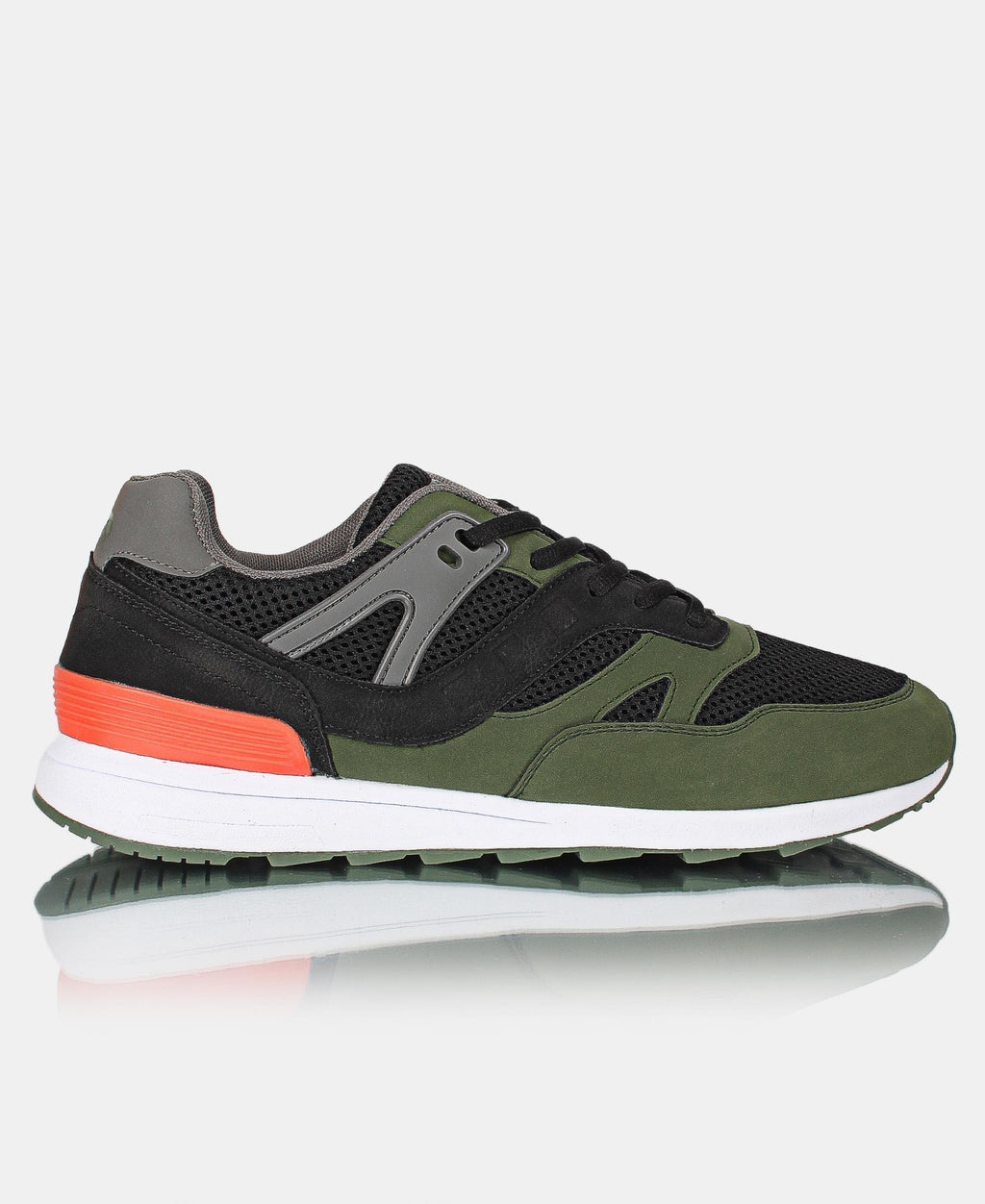 Men's Charged Sneakers - Olive
