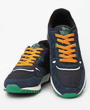 Men's Deluxe Sneakers - Navy