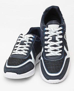 Men's Signature Sneakers - Navy