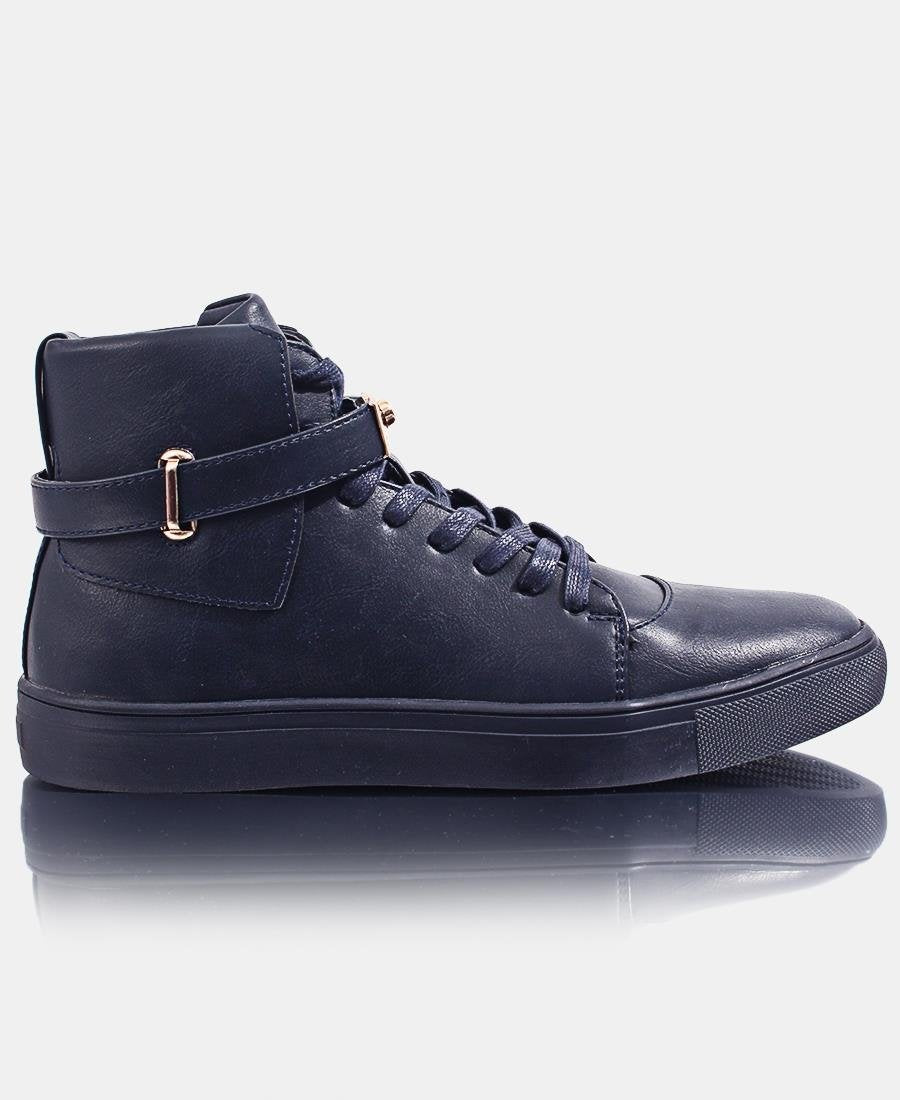 Men's Skater Sneakers - Navy