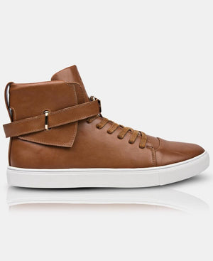 Men's Skater Sneakers - Tan