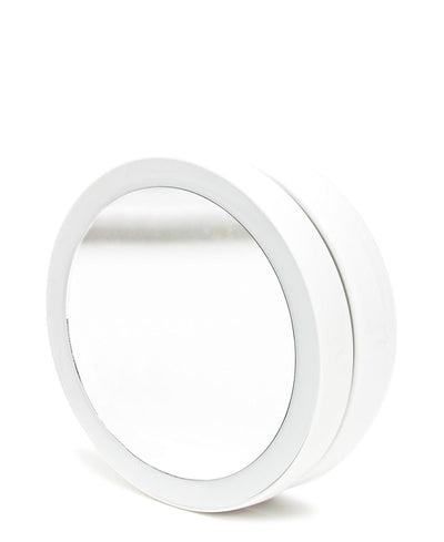 Round Led Mirror - White