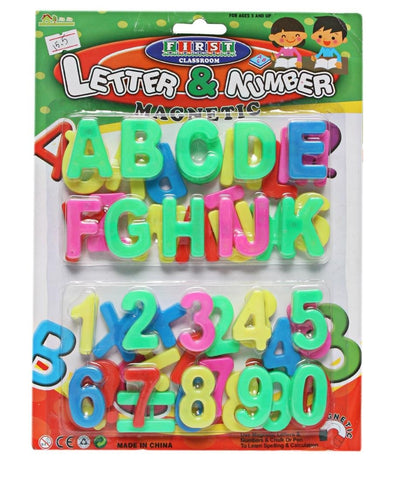 Magnetic Alphabets and Numbers - Multi