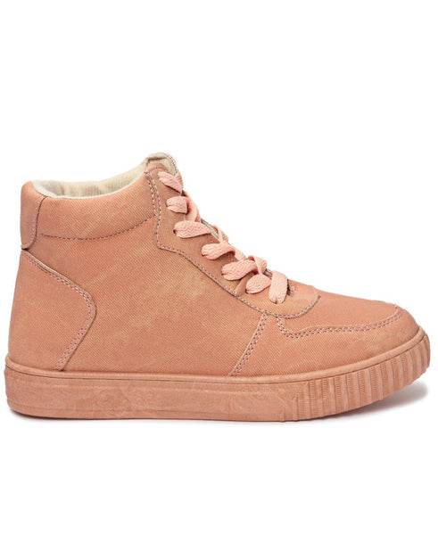 High Top Sneaker - Mink