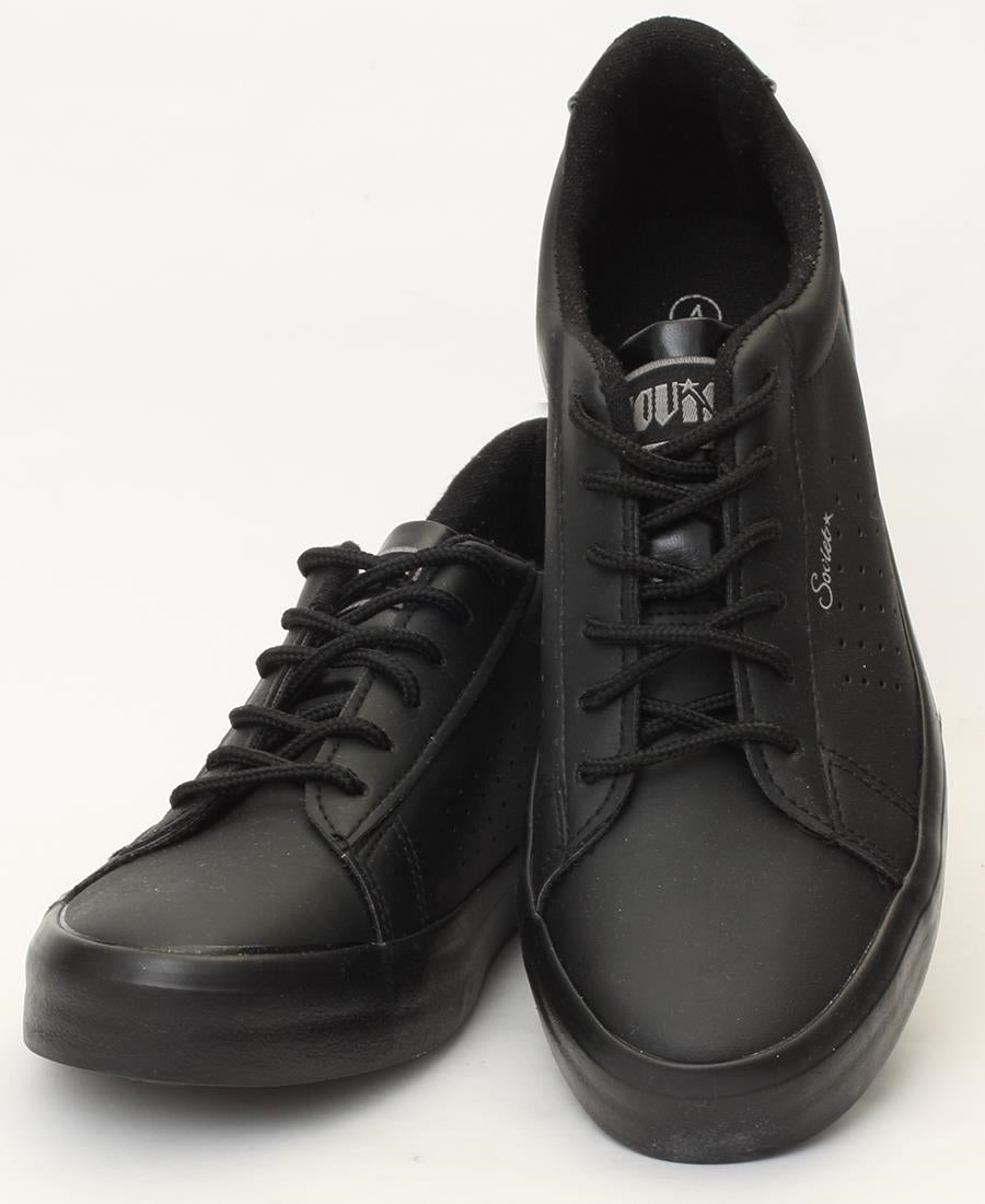 Ladies' Crystal Sneakers - Black