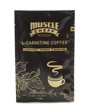 10 Pack L-Carnitine Coffee - Black