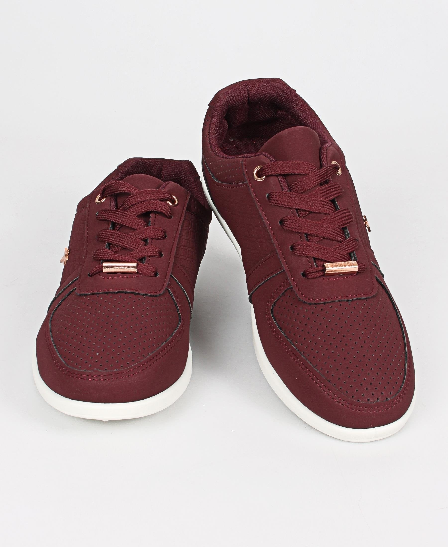 Ladies' Debbie Sneakers - Plum