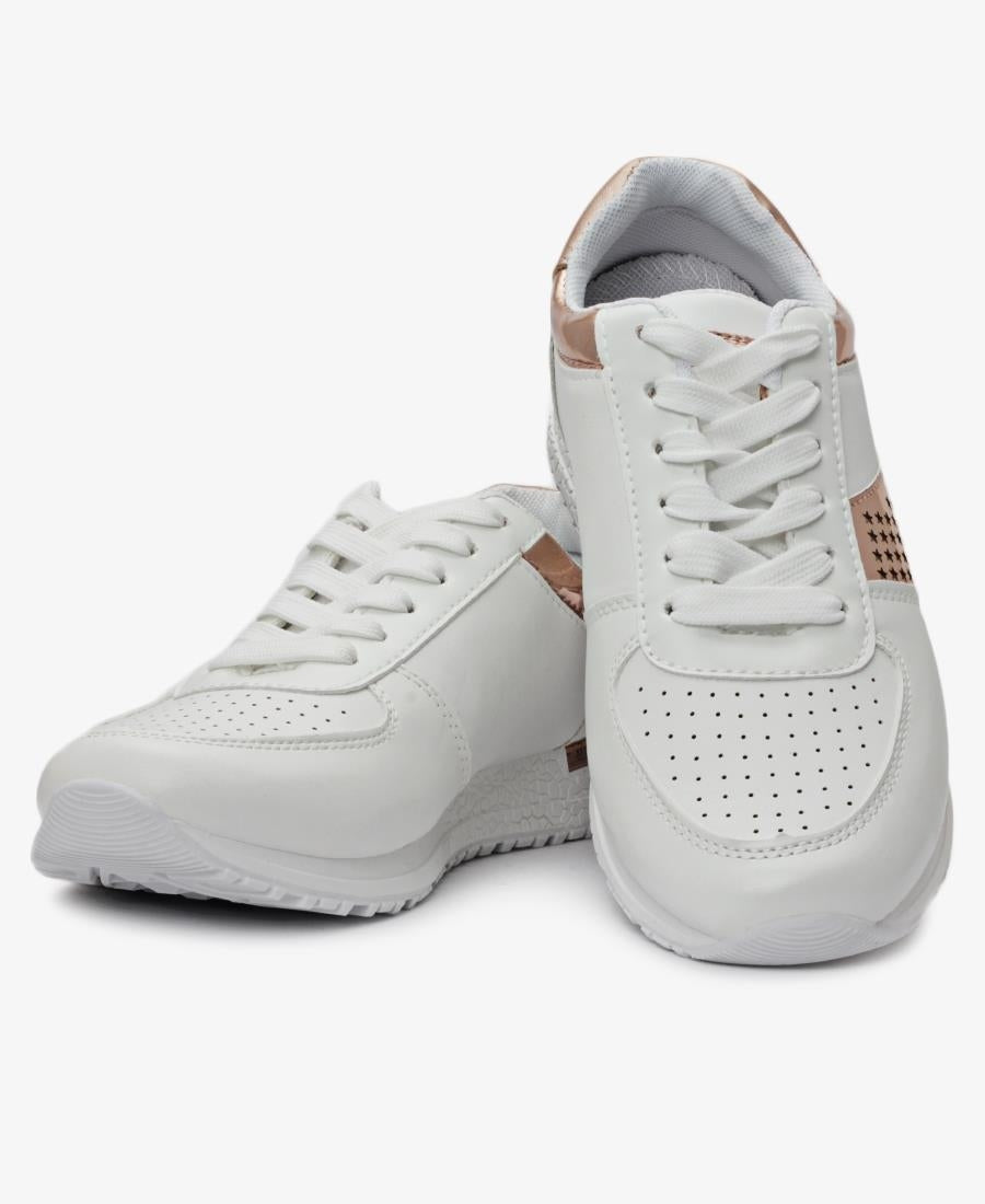 Ladies' Perkins Sneaker - White