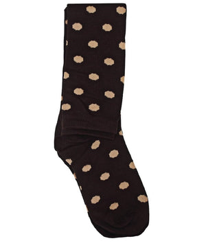 Below Knee Socks - Choc