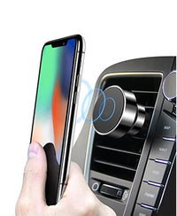 Magnetic Vehicle Phone Bracket - Black