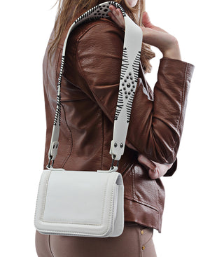 Saddle Bag - White