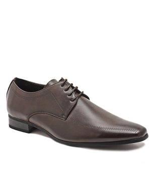 Lace Up Shoe - Brown