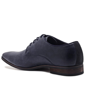 Lace Up Shoe - Navy