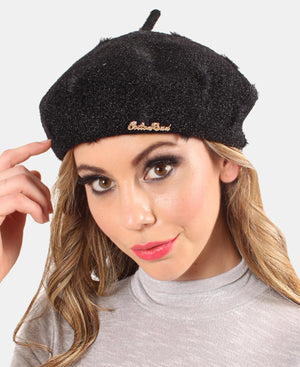 Ladies' Beret - Black