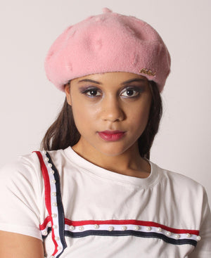 Ladies' Beret - Mink