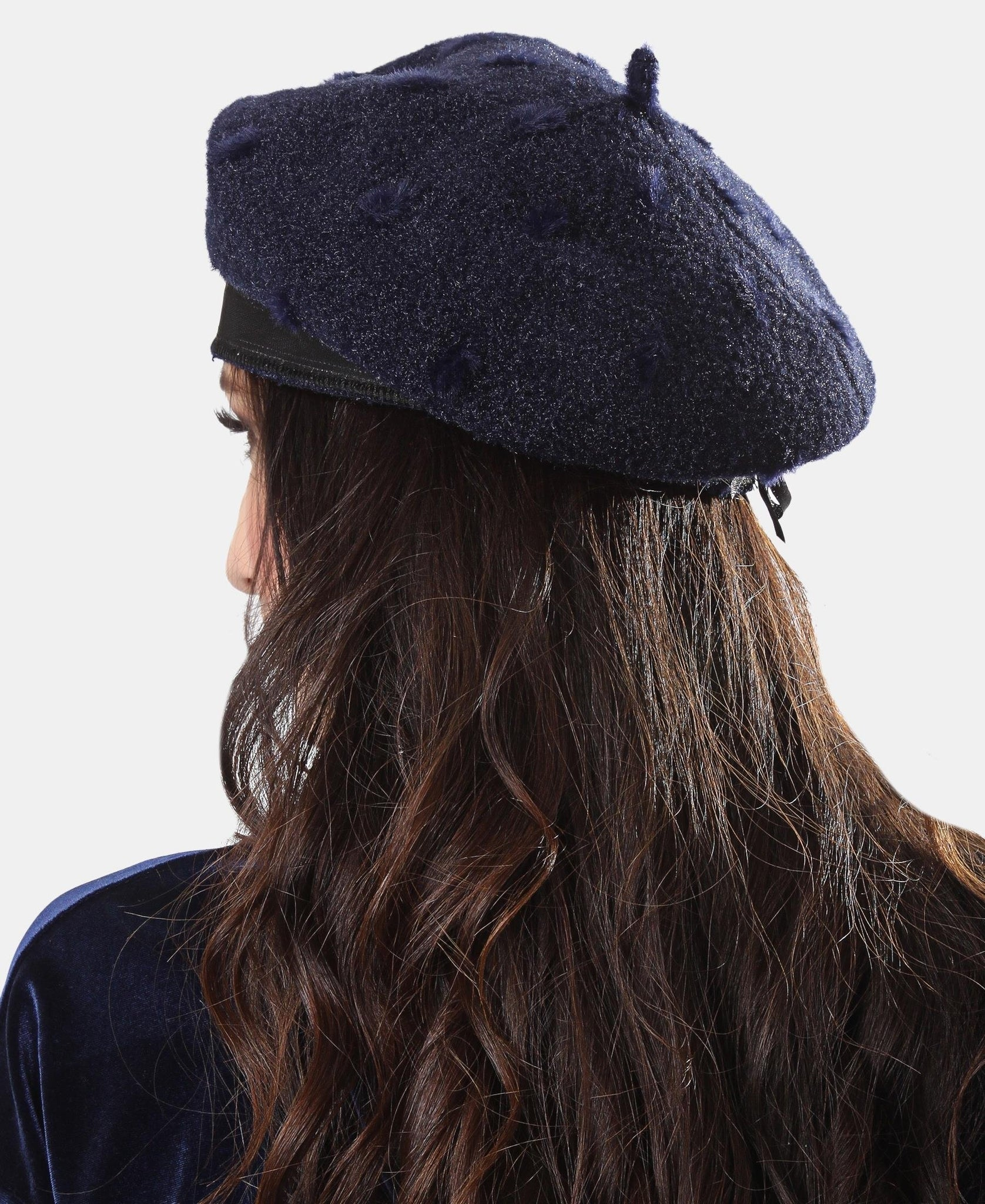 Ladies' Beret - Navy