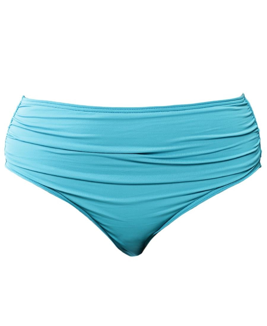 High Ruched Bottom - Blue