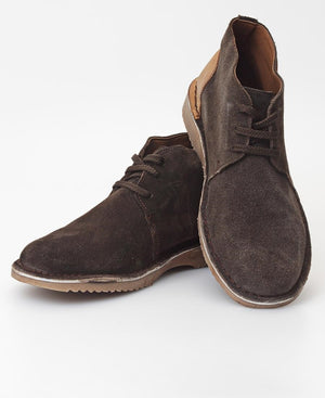 Men's Leather Boots - Brown