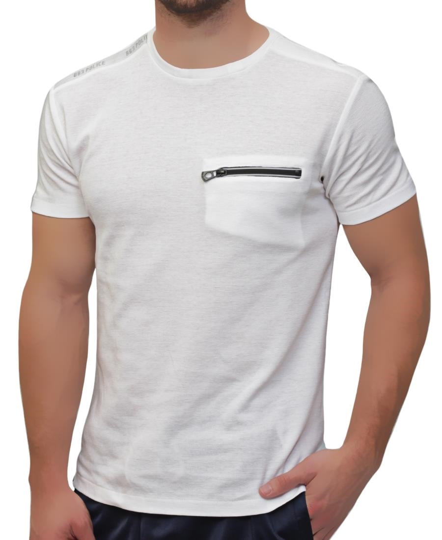 Police T-Shirt - White