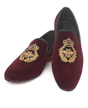 Smart Slip On - Burgundy