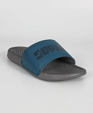 Men's Bahamas Sandals - Blue-Grey