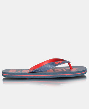 Men's Burfee Sandals - Navy-Red