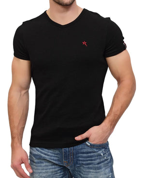 Bolt Evo Muscle Fit T-Shirt - Black