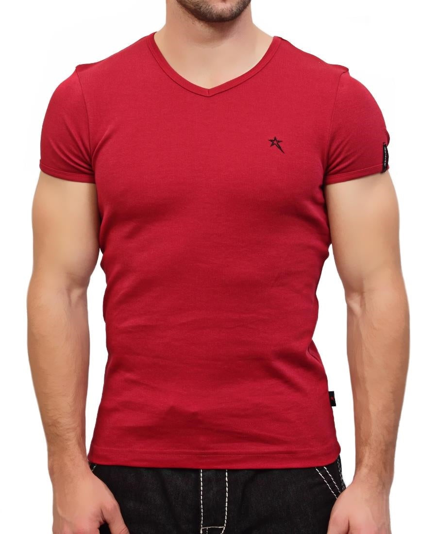 Bolt Evo Muscle Fit T-Shirt  - Red