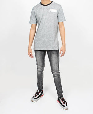 Men's Skinny Jeans - Charcoal