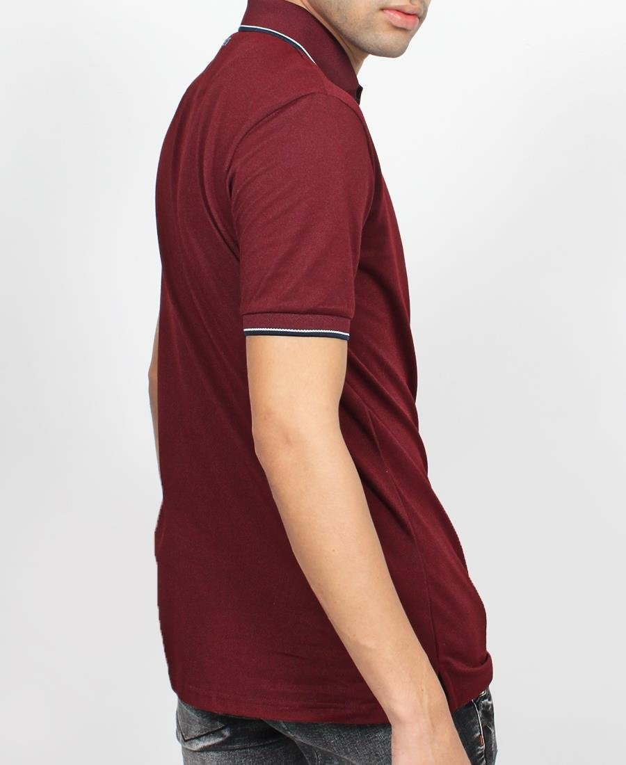Men's Golfer - Burgundy