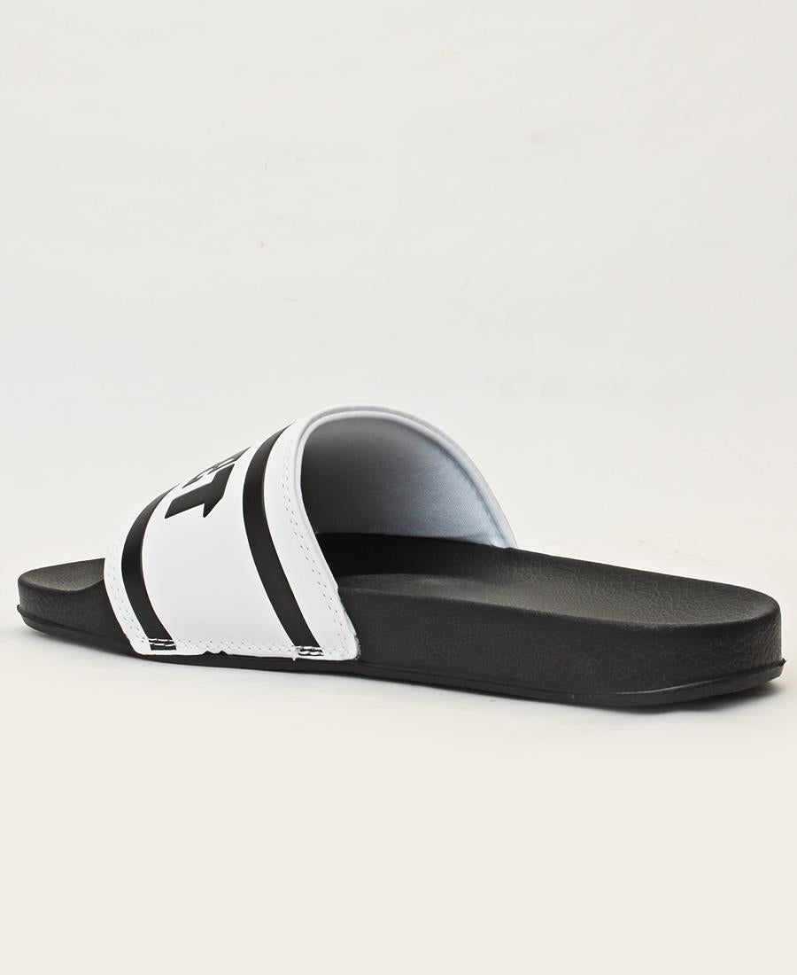 Men's Zanzi Sandals - White-Black