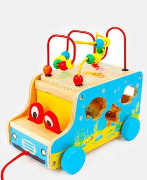 Marine Puzzle Car - Multi