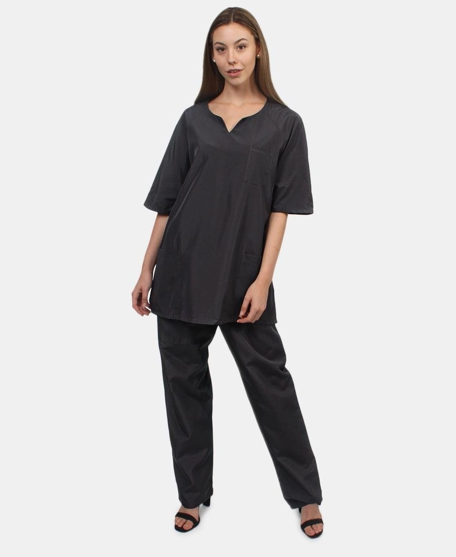 Unisex Scrub Suit - Grey