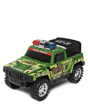 Cross Country Police Car - Green