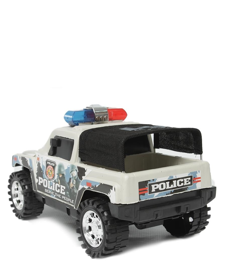 Cross Country Police Car - White