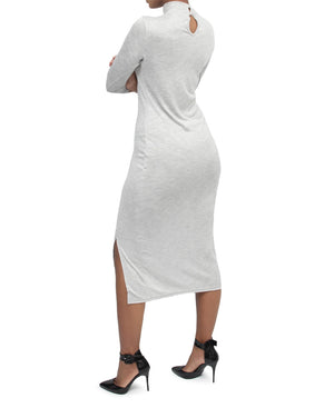 Bodycon Dress - Light Grey