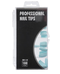 Nail Tips  - Light Blue