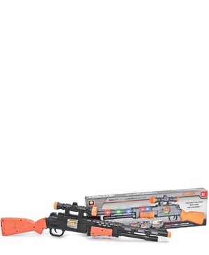 Kids Flash Machine Gun - Black