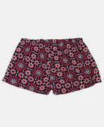 Girls Floral Shorts - Red