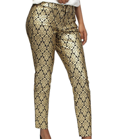 Smart Casual Pants - Gold