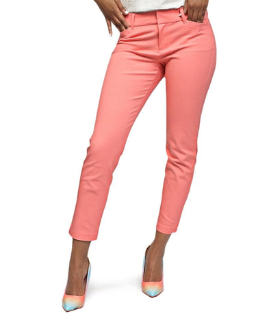 Smart Casual Pants - Peach