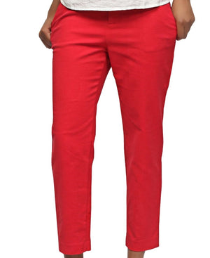 Smart Casual Pants - Red