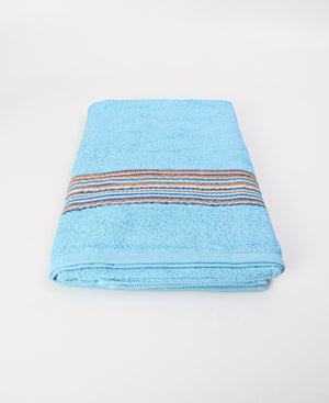 155x75cm Opal Bath Towel - Light Blue