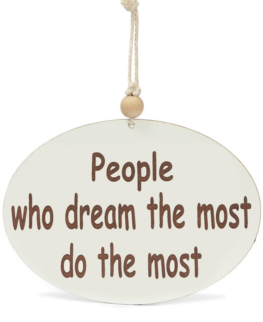 Personalised Wall Plaque - Beige